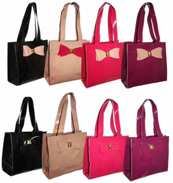 001 Original<br> Women&#39;s<br> Handbag with Bow ...