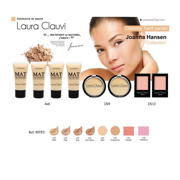 1 Display perfect complexion Joanna Hansen collect