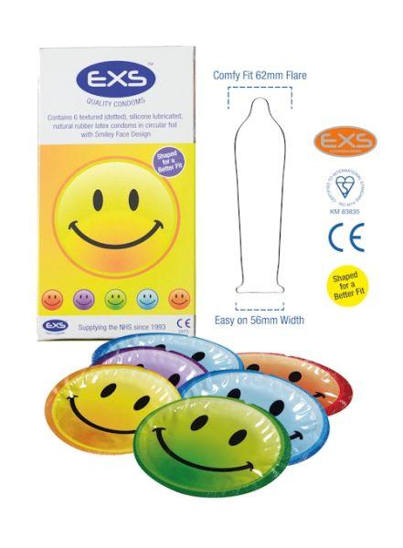 EXS Kondome SMILEY<br>(6 Stck.)