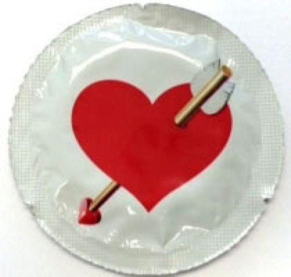 LIEBES-HERZ EXS<br>Kondome (1 Stck.)