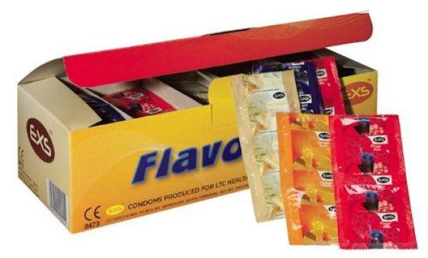 EXS Kondom<br> Aromatisierte 144<br>Stück