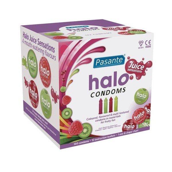 HALO ROUND Pasante<br>Kondome 144 Stück.