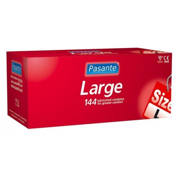 Condoms Pasante<br>LARGE 144 pcs