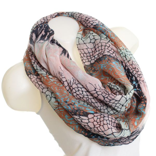scarf loop A/13 Brown