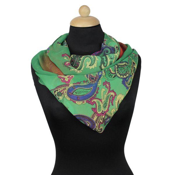 Damen Loop schal<br> Tuch gute Qualität<br>150977 Grün