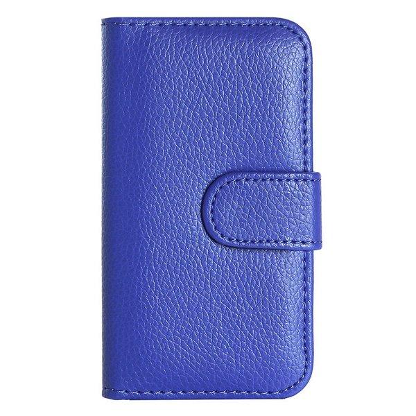 Handy Cover for<br> Smarthphones Wiko<br>GETA WAX Blue