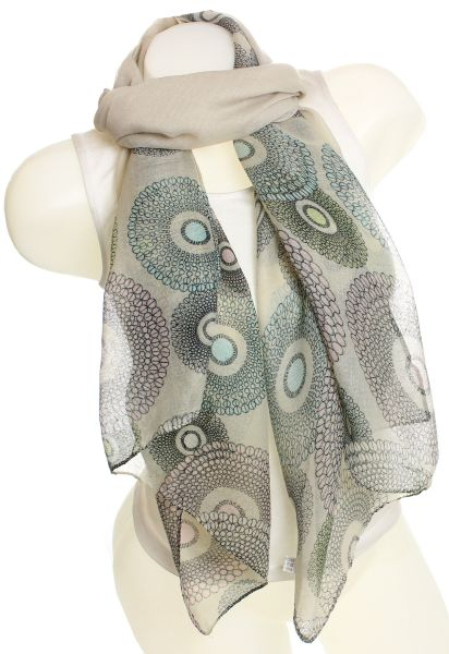 Ladies Loop scarf<br> scarf good quality<br>9D0071 Khaki