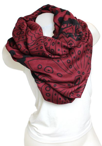 Ladies Scarf Long<br>Scarf 9D0190 red