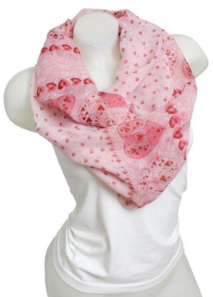 Schlauchschal<br> ladies good<br>quality 9D0259 Pink