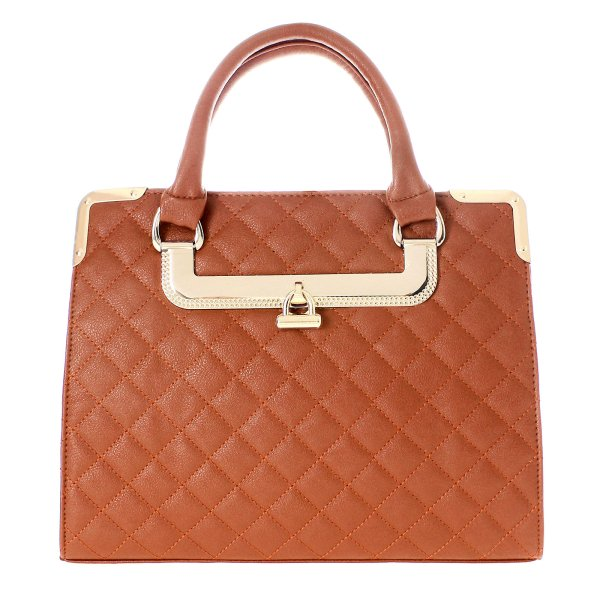 Shopper bag ladies<br> bag handbag T10<br>Camel