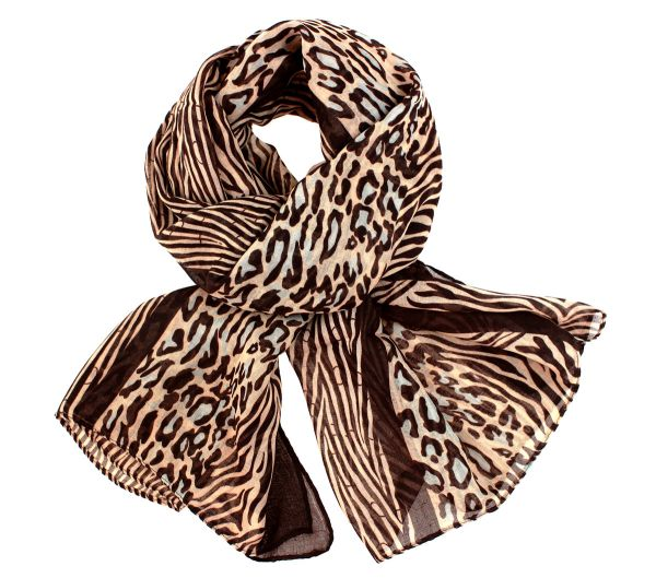 Ladies scarf shawl<br>SCARF 9D0157 Grey