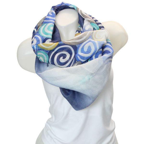Damen Loop schal<br> Tuch gute Qualität<br>9D0299 150375