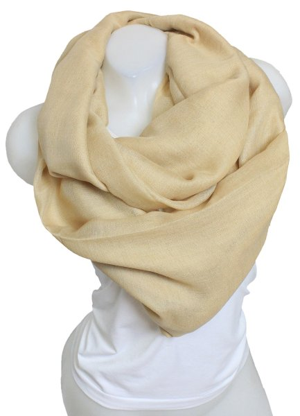 Ladies Loop scarf<br> scarf good quality<br>9D0291 Beige