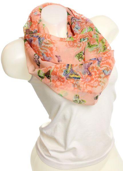 Ladies Loop scarf<br> scarf good quality<br>9D0066 Orange