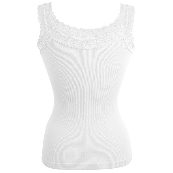 Short Ladies Top<br>White TOP 8D0010