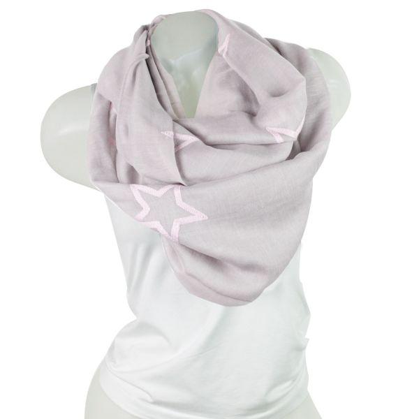 Damen Loop schal<br> Tuch gute Qualität<br>150807 Grau