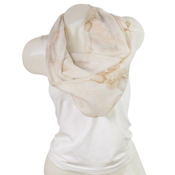 Ladies Loop scarf<br> good quality cloth<br>150828 Beige