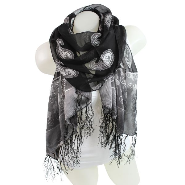 Black scarf 9D0412