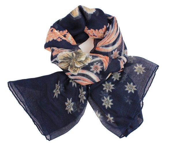 scarf scarf SCARF<br>9BD0161 Dark Blue