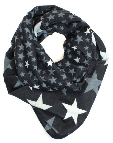 Ladies Scarf Long<br>Scarf Black 9D0179