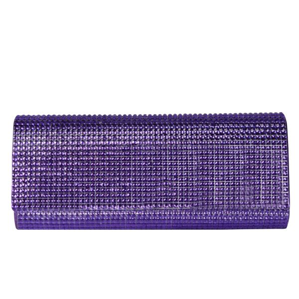 Evening bag ladies<br> good quality T0002<br>Purple