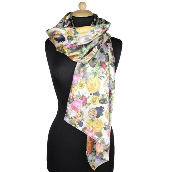 Ladies Scarf good<br> quality stained<br>150,998