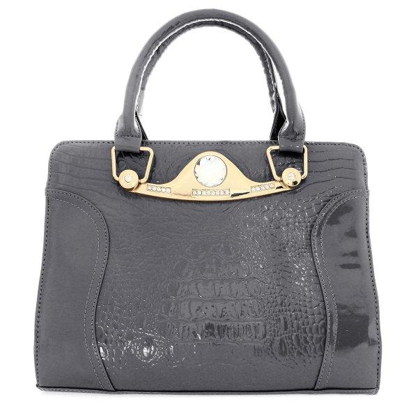 Shopper Tasche<br> Damentasche<br>Handtasche T13 Grau