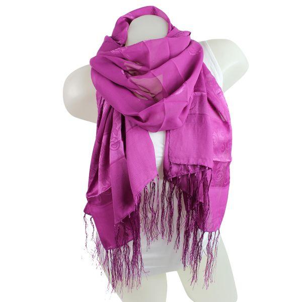 9D0412 scarf Rosa