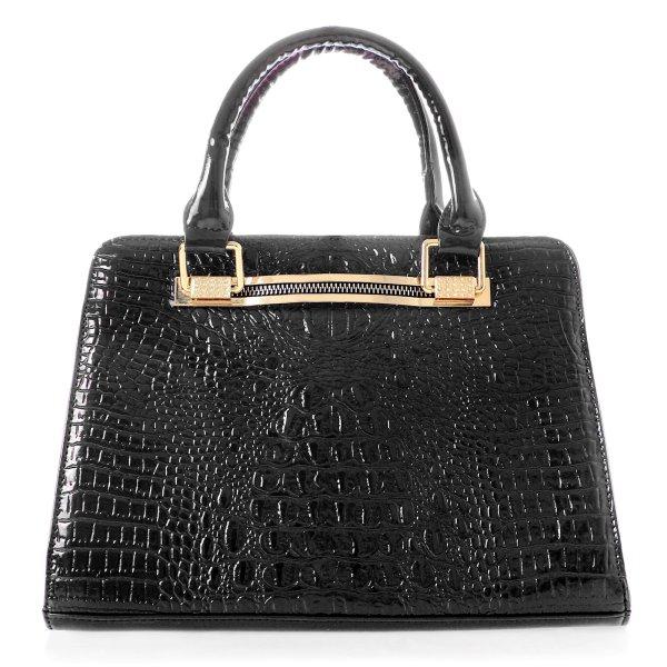 Shopper bag ladies<br>bag handbag black T8