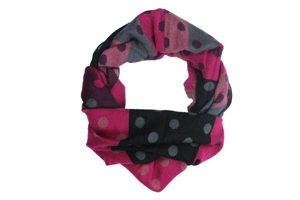 Rundschal Damen<br> Rundschal 9D0216<br>Pink