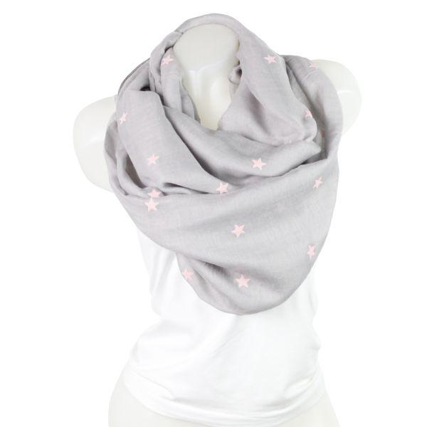 Ladies Loop scarf<br> scarf good quality<br>gray 150804