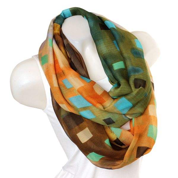 loop scarf 2014/15 Green