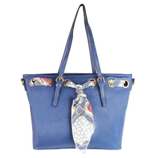 Damen Tasche bag<br>70119 blau
