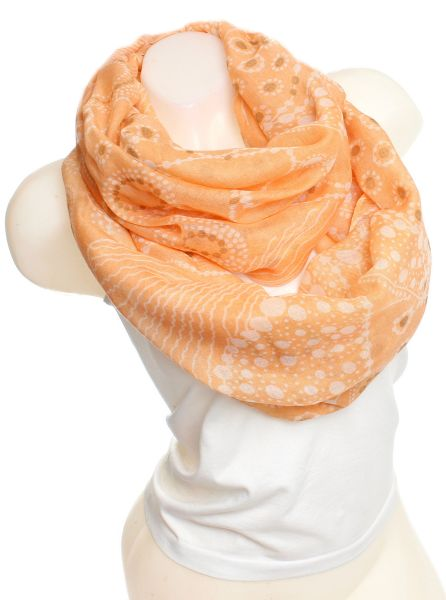 Ladies Loop scarf<br> scarf good quality<br>9D0047 Yellow