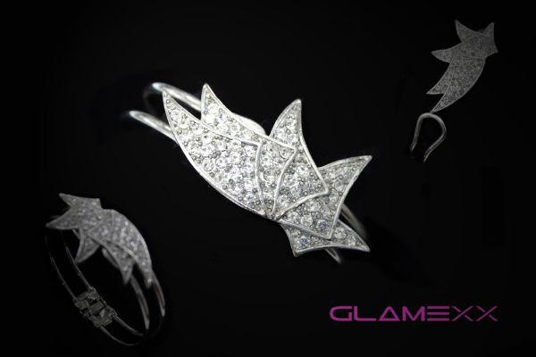 Bangles, costume<br>jewelery Silver SK-7