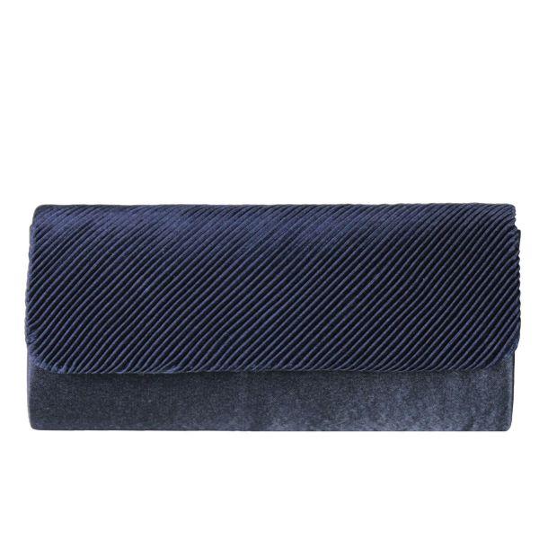 Evening bag ladies<br> good quality T0010<br>Dark Blue