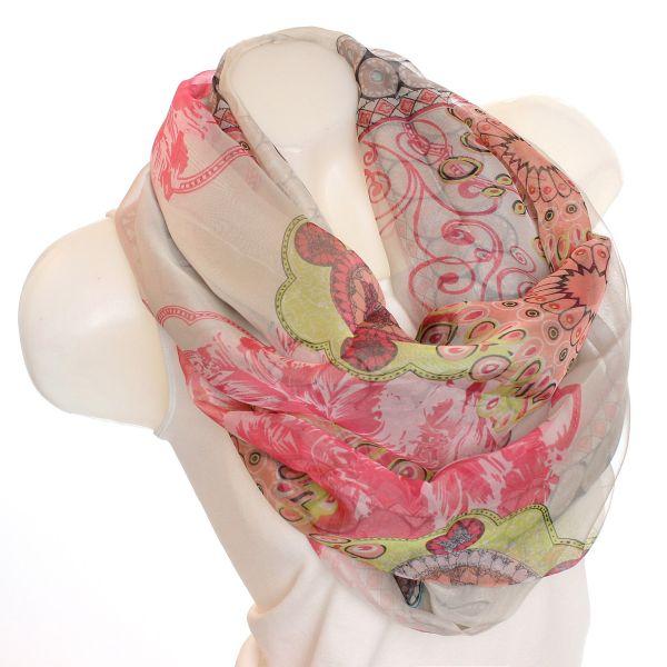 loop scarf sz 1404 pink