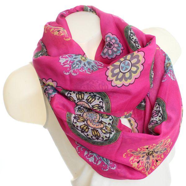 scarf loop XWB DA8 Pink