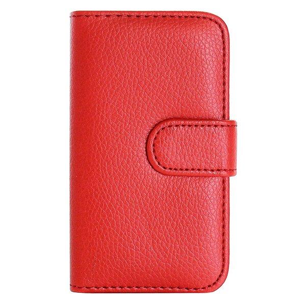 Handy Hülle für<br> Smarthphones Wiko<br>GETA WAX Rot