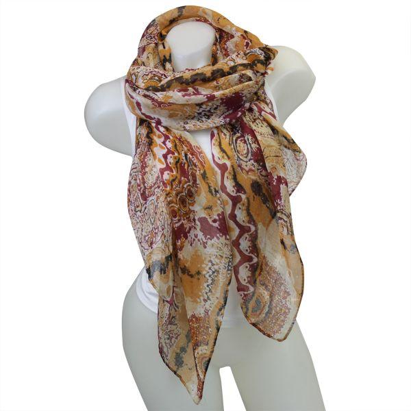 Ladies Loop scarf<br> good quality cloth<br>150475 Brown