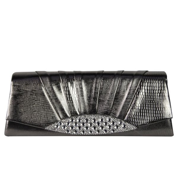 Evening bag ladies<br> good quality T0005<br>Silver