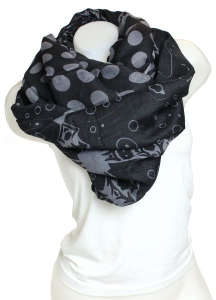Ladies Scarf Long<br>Scarf 9D0190 black