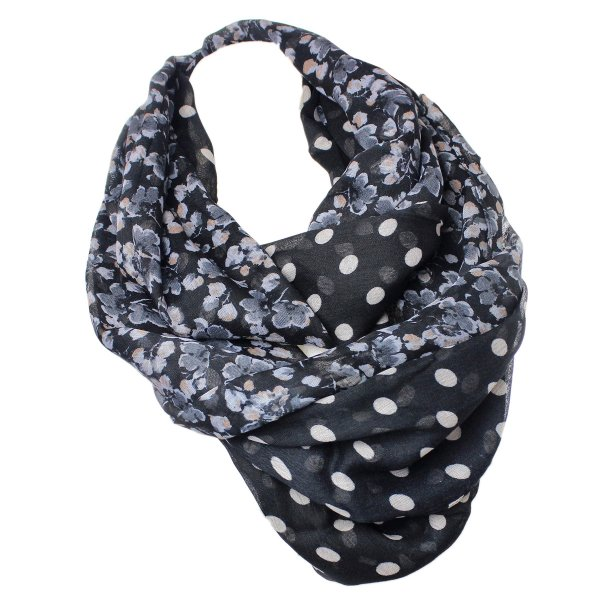 Snood Snood Ladies<br>Loop 9D0147 Schwar