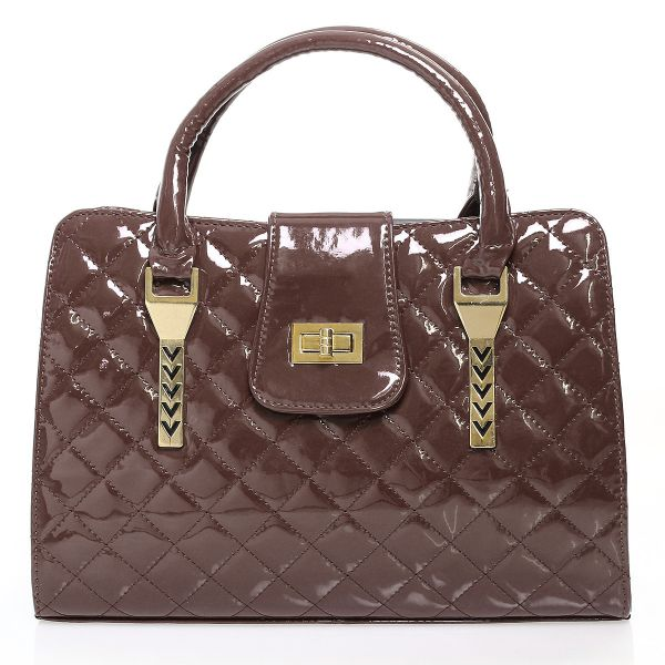 Shopper bag ladies<br> bag handbag 561<br>brown