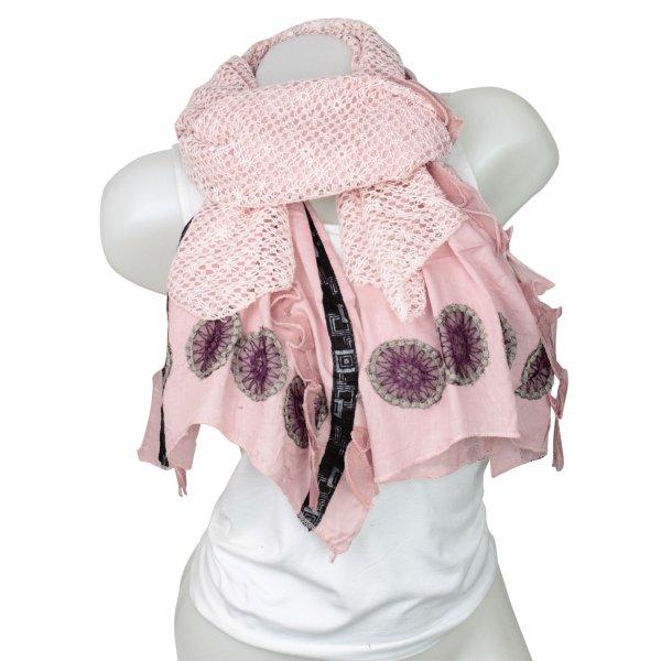 Ladies Loop scarf<br> good quality cloth<br>150896 Rosa