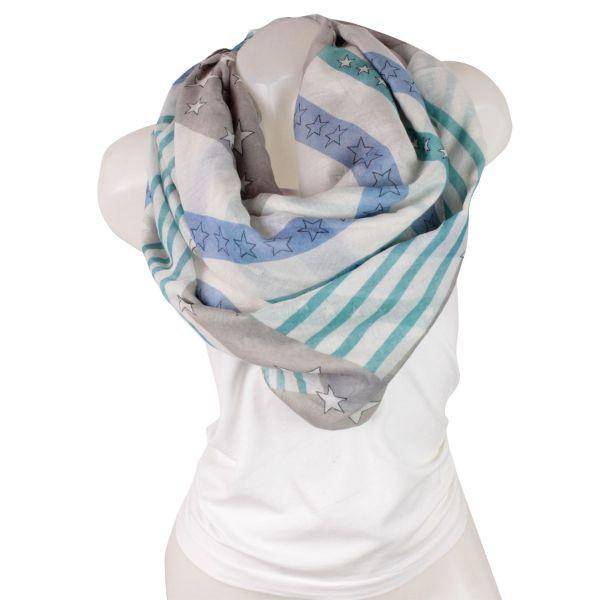 Damen Loop schal<br> Tuch gute Qualität<br>150850 Grün,Bl