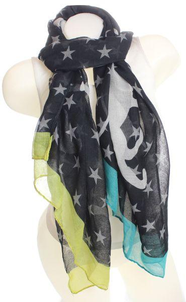 Ladies Loop scarf<br> scarf good quality<br>9D0072 Black