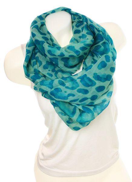 Ladies Loop scarf<br> scarf good quality<br>9D0111 Turquo