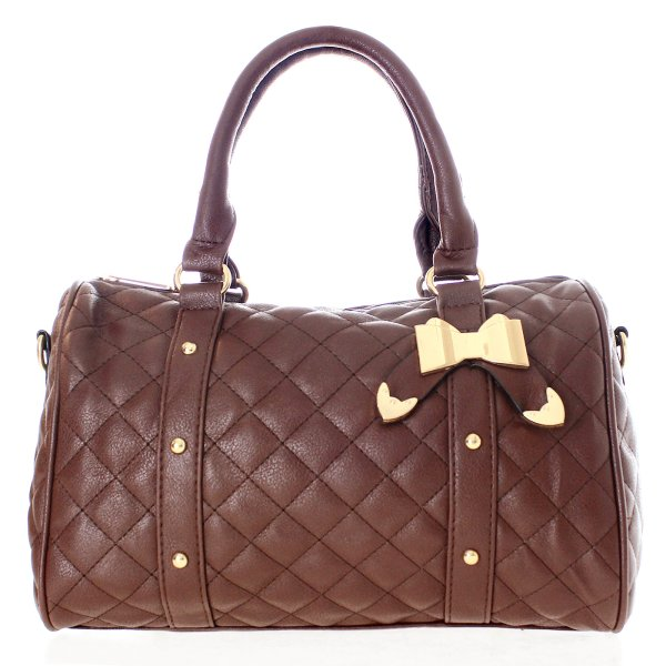 Ladies shoulder<br> bags, handbags T41<br>Brown
