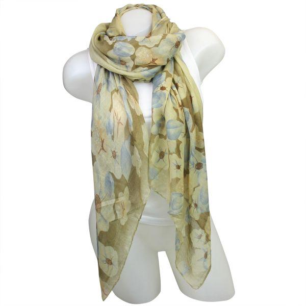 Ladies Loop scarf<br> scarf good quality<br>Green 150497